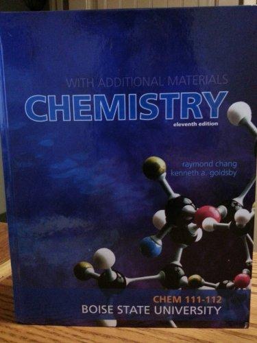 9780077683283: Chemistry CHEM 111-112 Boise State University