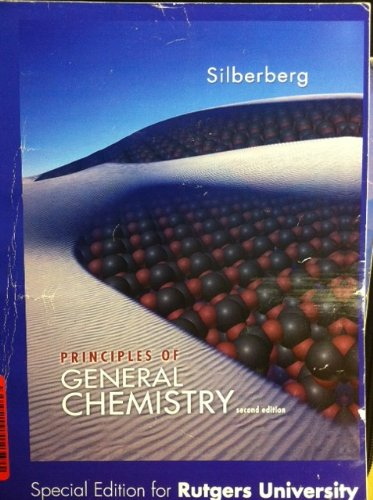 9780077684419: Principles of General Chemistry 2nd Edition Rutgers University