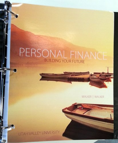 9780077685263: Personal Finance Building Your Future for UVU's FIN 1060, Looseleaf (Utah Valley University Personal Finance)