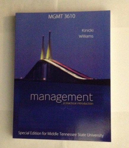 9780077686529: Management, a practical introduction