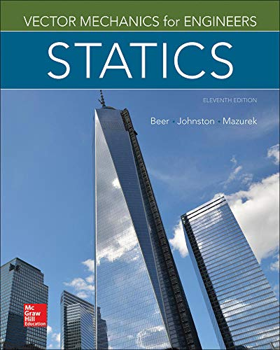 9780077687304: Vector Mechanics for Engineers: Statics, 11th Edition