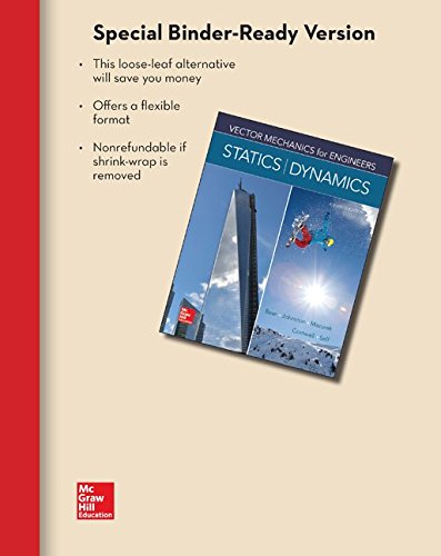 9780077687427: Loose Leaf for Vector Mechanics for Engineers: Statics and Dynamics