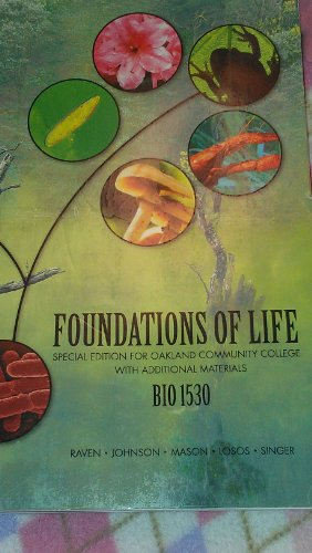Foundations of Life: Special Edition for Oakland Community College with Additional Materials BIO ...