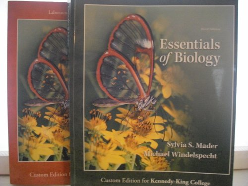 9780077689940: Essentials of Biology Third Edition (Custom Edition for Kennedy King College) and Laboratory Manual