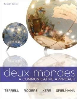 9780077690441: Deux Mondes A Communicative Approach (Bergen Community College) 7th Edition