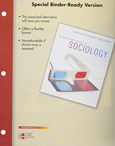 9780077690786: Looseleaf for Experience Sociology