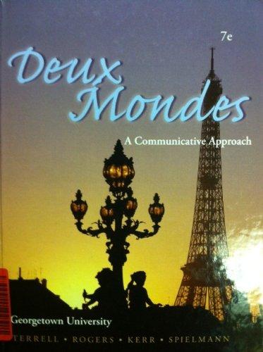9780077690991: Deux Mondes - A Communicative Approach Georgetown University 7th Edition