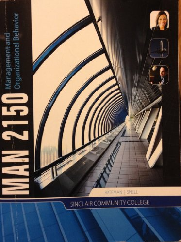 9780077692889: Management and Organizational Behavior, MAN 2150, Sinclair Community College