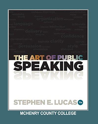 9780077693718: The Art of Public Speaking