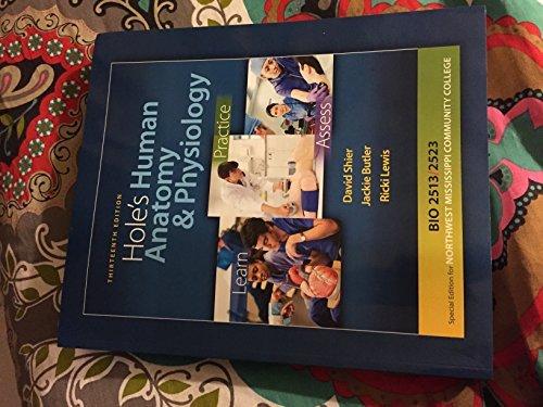 9780077694180: Hole's Human Anatomy & Physiology (Northwest Community College Bio 2513/2523)