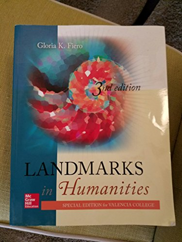 9780077695606: Landmarks in Humanities (Special Edition for Valencia College)