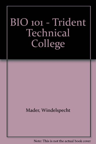 9780077695774: Trident Technical College Bio 101