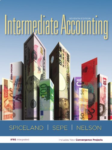 9780077697167: Intermediate Accounting (Intermediate Accounting Texas A&M University-Commerce)