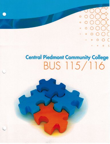 9780077699604: Central Piedmont Community College BUS 115/116 - Dynamic Business Law, The Essentials, Second Edition