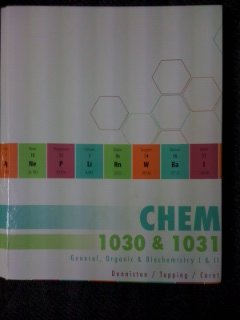 9780077700317: CHEM 1030 AND 1031 General, Organic, and Biochemistry I and II with ConnectPlus Code - Custom for the University of Cincinnati
