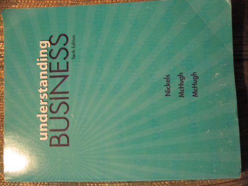 Understanding Business 10th Edition,9780077701260