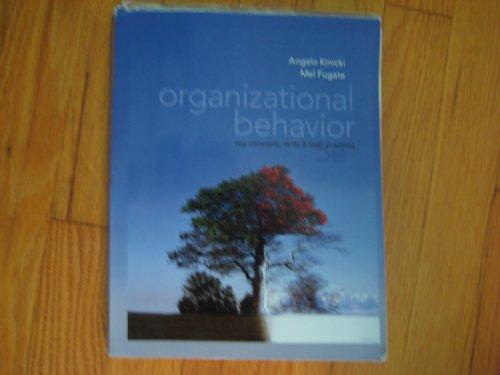 Fundamentals of Human Resource Management + Organizational: Angelo Kinicki, Mel