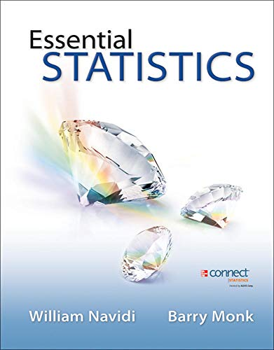 9780077701406: Essential Statistics with Data CD and Formula Card