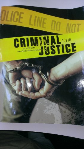 9780077702069: Criminal Justice Special Edition for Grand Rapids Community College CJ 110