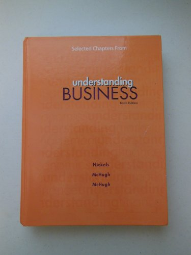 9780077702465: Selected Chapters from Understanding Business