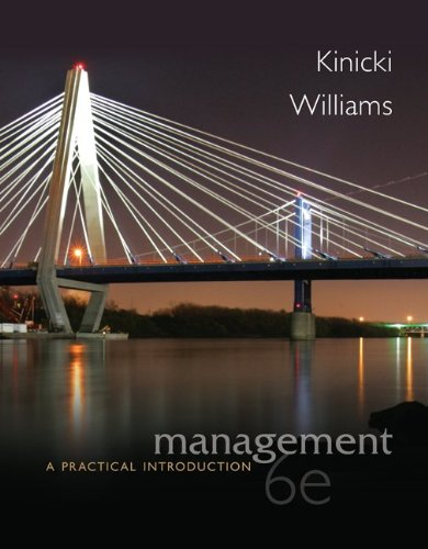 Loose-Leaf Management with Connect Access Card: Williams, Brian, Kinicki,