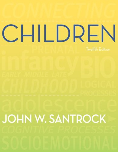 GEN CMB LOOSE LEAF CHILDREN AND Media Ops Setup ISBN ACCESS CARD: John Santrock
