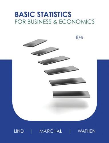 9780077703301: Loose Leaf Basic Statistics for Business & Economics with MegaStat for Excel 2007, 2010, 2013 Access Card