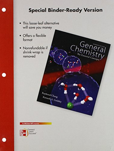 9780077705381: Loose Leaf for General Chemistry with Connect Access Card