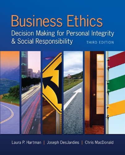 9780077713331: Business Ethics with Premium Content Access Card
