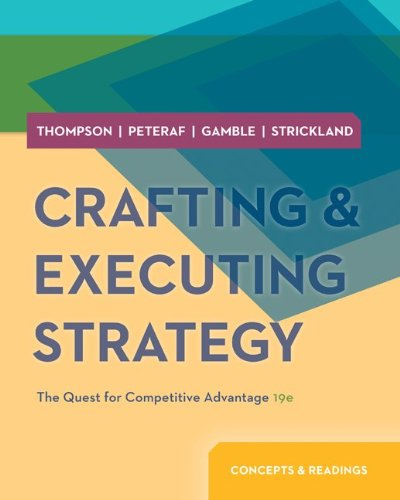 9780077713423: Crafting and Executing Strategy: Concepts & Readings with BSG & GLO-BUS Access Card