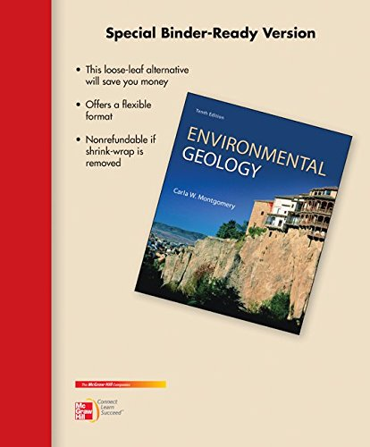 9780077716288: Loose Leaf Environmental Geology with Connect Access Card