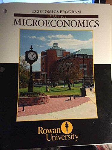 9780077717247: Microeconomics Rowan University Econ 102 (With Connect)