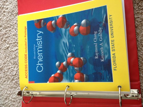 9780077718008: Eleventh Edition Chemistry 1046 Chang/Goldsby Florida State University