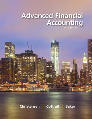 9780077718961: Advanced Financial Accounting with Connect Access Card