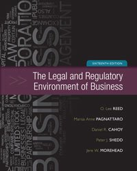 9780077719548: The Legal and Regulatory Enviorment of Business-16 Edition - Holepunched Paperback