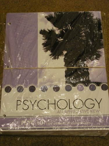 9780077719975: The Science of Psychology an Appreciative View 2e