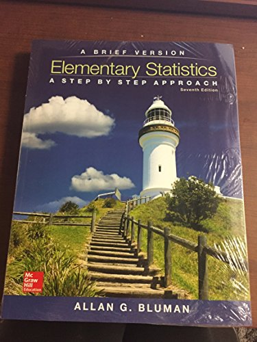 9780077720582: Elementary Statistics: A Step by Step Approach: A Brief Version