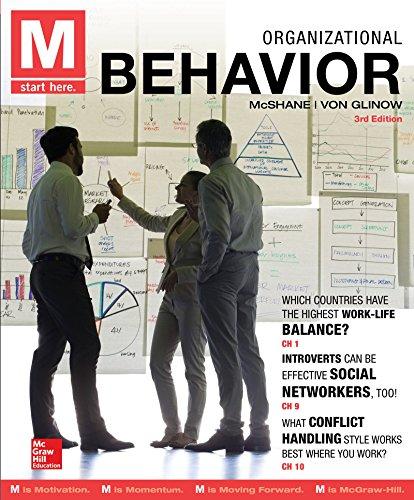 9780077720605: M: Organizational Behavior