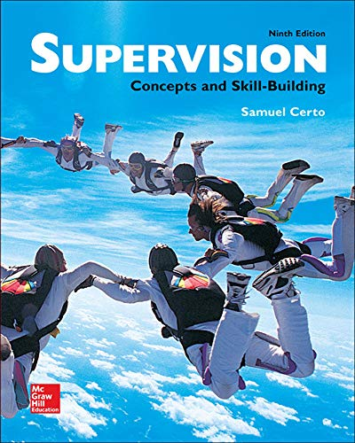9780077720612: Supervision: Concepts and Skill-Building (Irwin Management)
