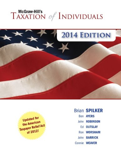 9780077722098: McGraw-Hill's Taxation of Individuals, 2014 Edition with Connect Plus