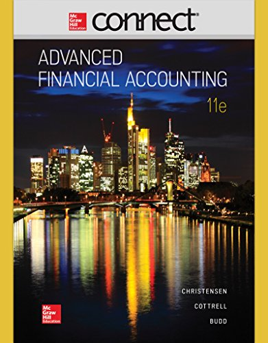 9780077723286: CONNECT 2 SEMESTER ACCESS CARD FOR ADVANCED FINANCIAL ACCOUNTING