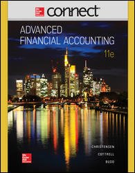 9780077723293: CONNECT ONLINE ACCESS FOR ADVANCED FINANCIAL ACCOUNTING 11th
