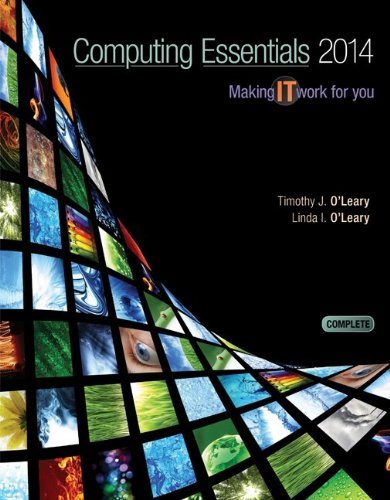 9780077723620: Computing Essentials 2014 Complete Edition with Connect Access Card