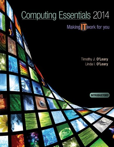 9780077723637: Computing Essentials 2014 Introductory Edition with Connect Access Card