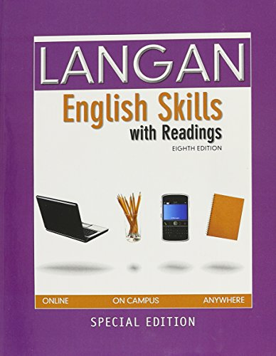 9780077724252: Langan English skills with readings (2012)