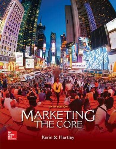 9780077729035: Marketing: The Core (Access code not included)