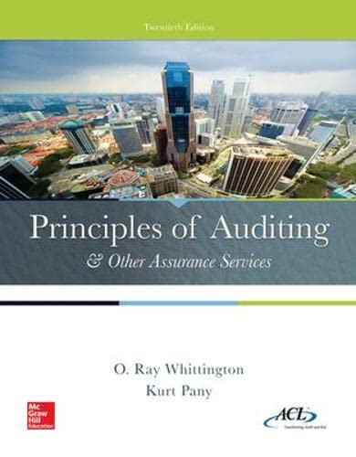 9780077729141: Principles of Auditing & Other Assurance Services