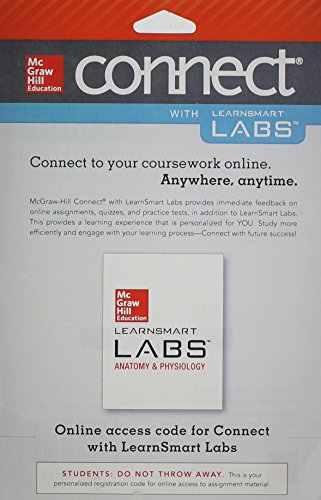 9780077729721: Connect Access Card for LearnSmart Labs Anatomy and Physiology with APR