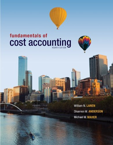 9780077729837: Fundamentals of Cost Accounting with Connect Plus