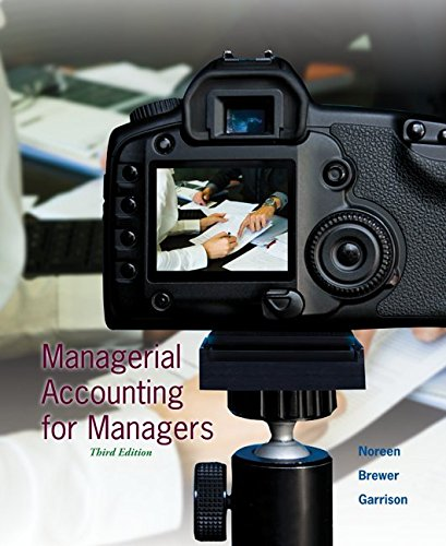 9780077729851: Managerial Accounting for Managers with Connect Plus